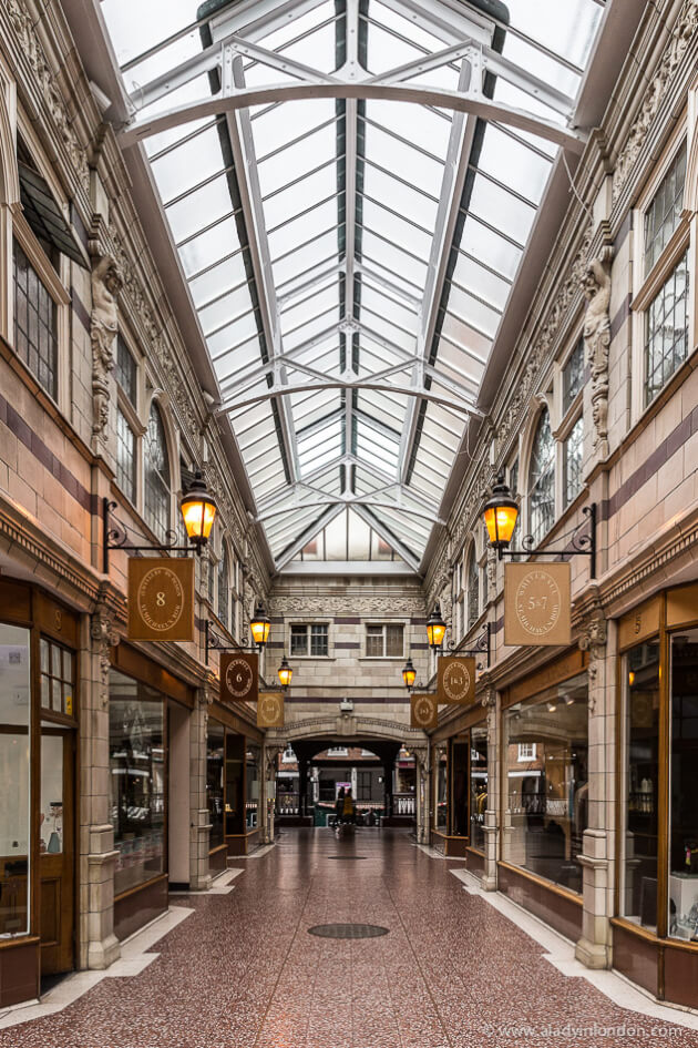 Shopping Arcade in Chester