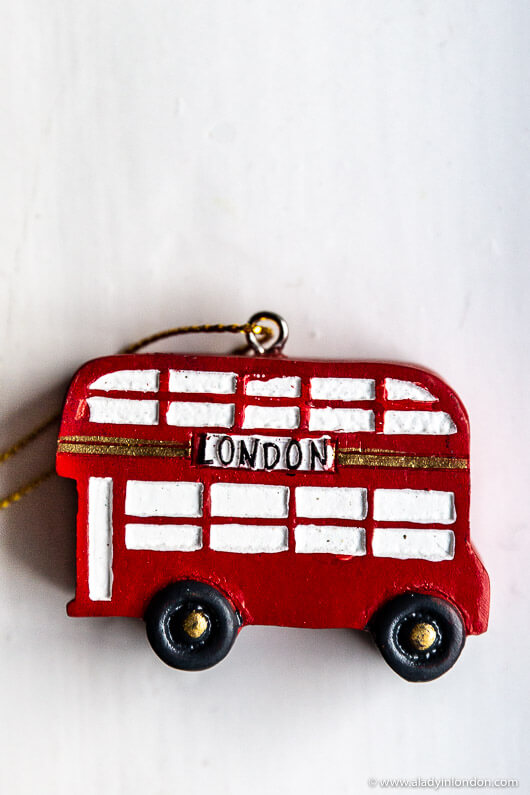 London Christmas Tree Ornament Giveaway Win Gisela Graham Baubles