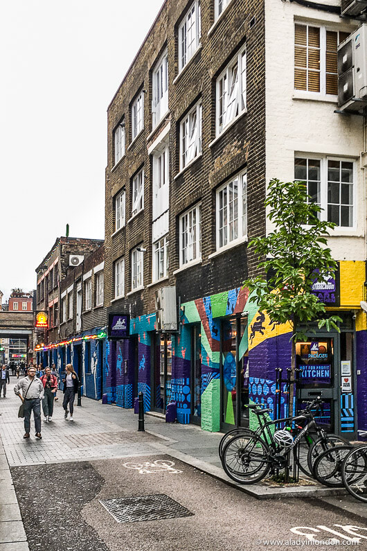 Shoreditch Map: Free Self-Guided Walk In East