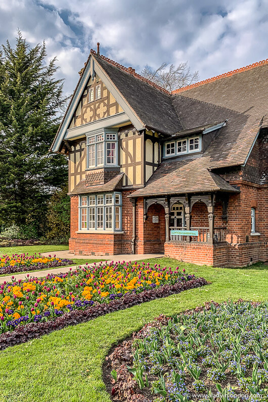 House in Dulwich Park