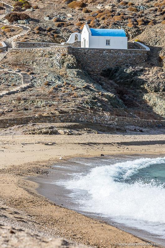 Fokos Beach, Mykonos