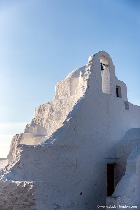 Chapel in Mykonos