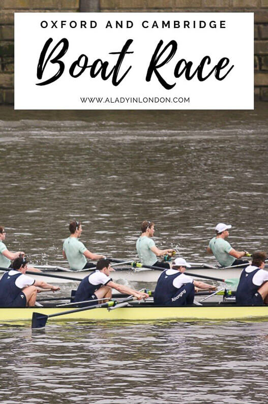 Oxford and Cambridge Boat Race - A Guide to The Boat Race in London