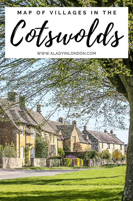 Photo of Map of Cotswold Villages – Interactive Map of Villages in the Cotswolds