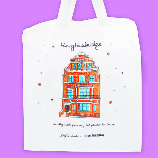 A Lady in London Knightsbridge Tote Bag