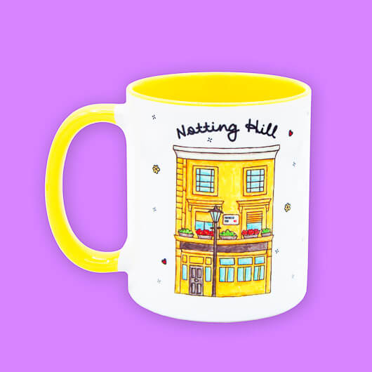 A Lady in London Notting Hill Mug