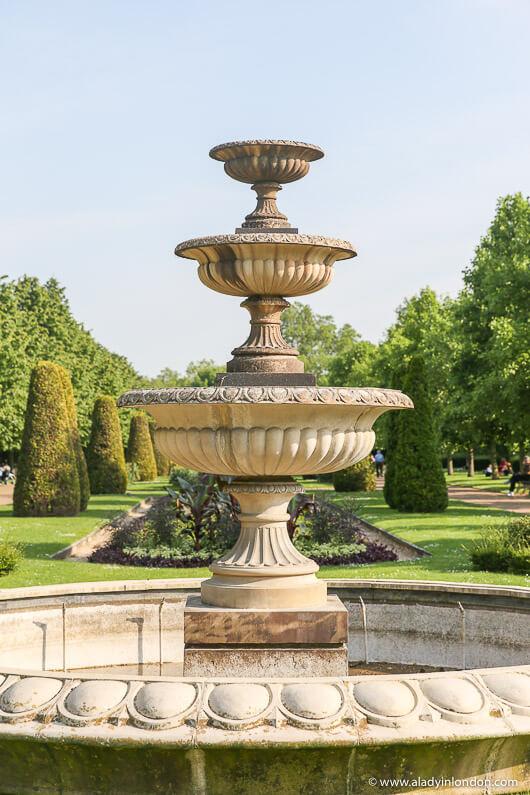 Regent's Park English Garden Fountain, London