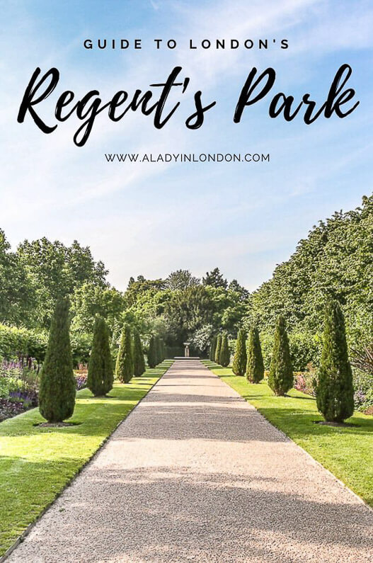 Photo of Regent's Park, London – A Guide and Interactive Regent's Park Map