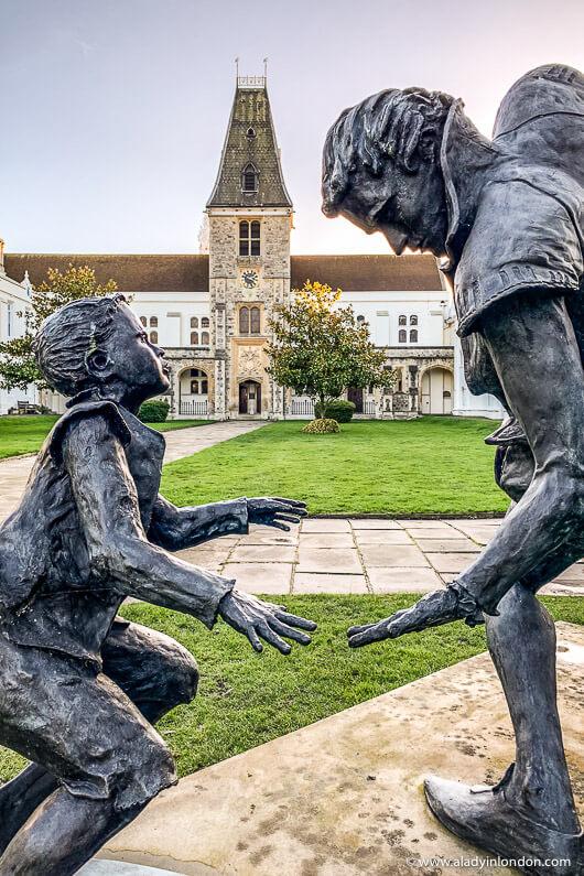 Sculpture in Dulwich, London