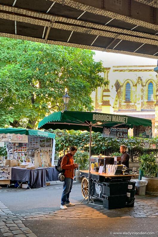 Borough Market Coffee Stand