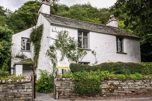 Dove Cottage in the Village of Grasmere, Cumbria