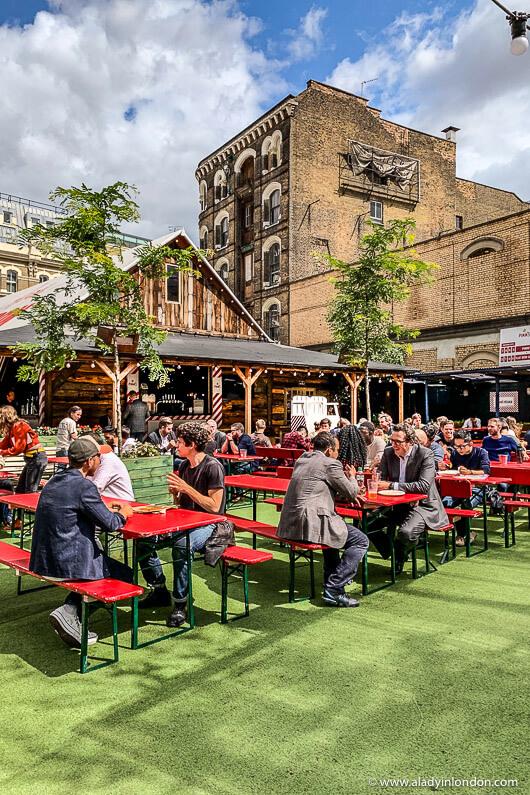 Flat Iron Square, London