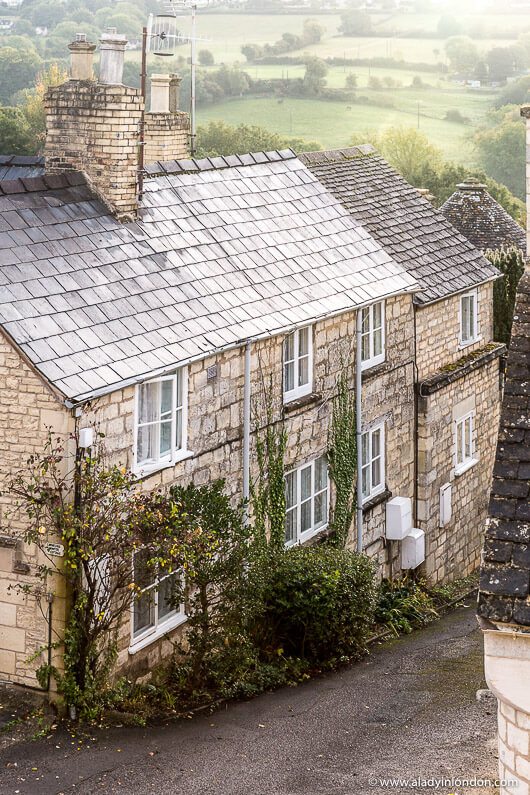 House in the English Village of Painswick, Cotswolds