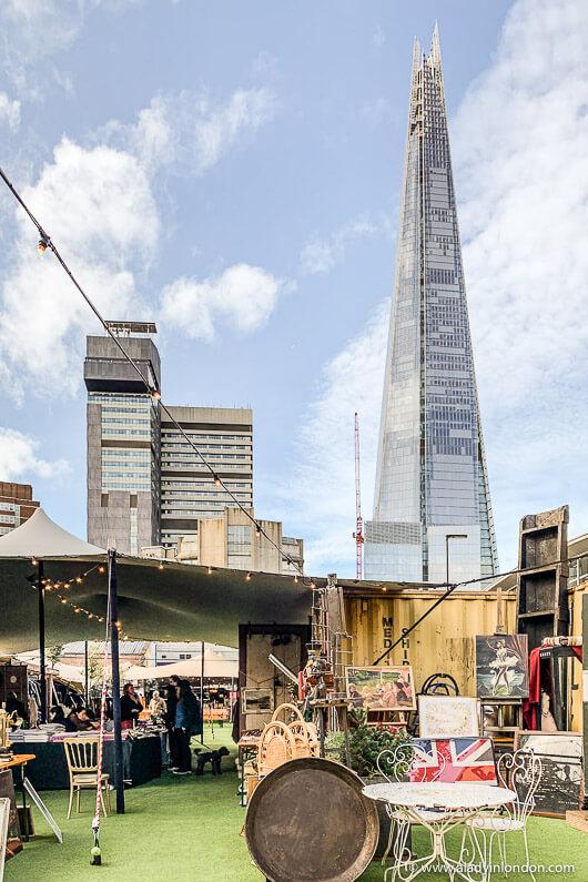 Vinegar Yard Market, London
