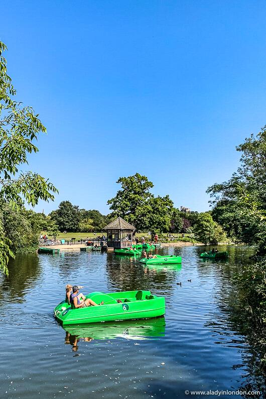 Dulwich Park Boating Lake