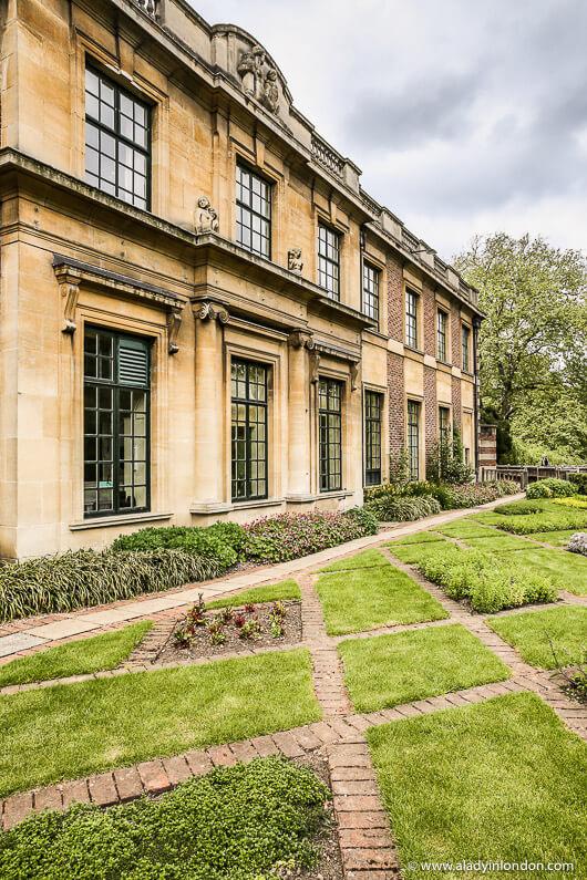 Garden at Eltham Palace, London