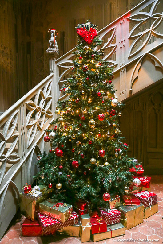 Strawberry Hill House Christmas Tree