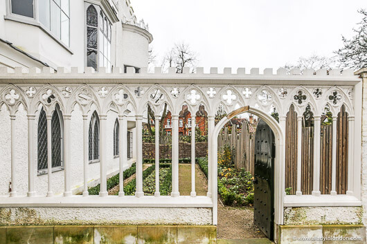 Garden at Strawberry Hill House