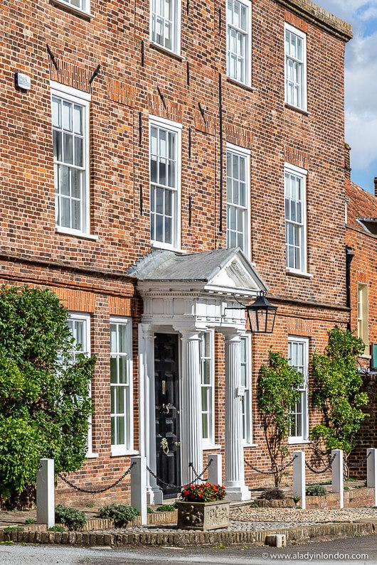 House in Burnham Market, Norfolk, England