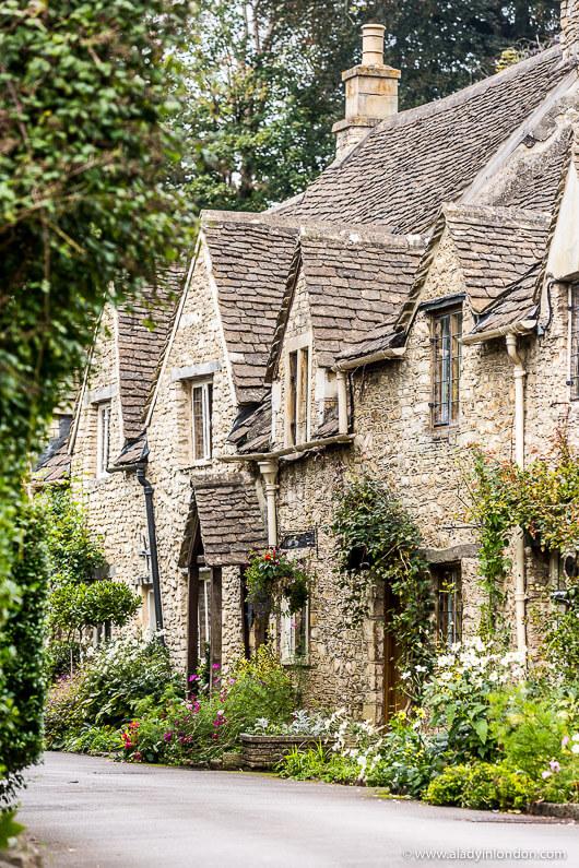 Castle Combe Village in England
