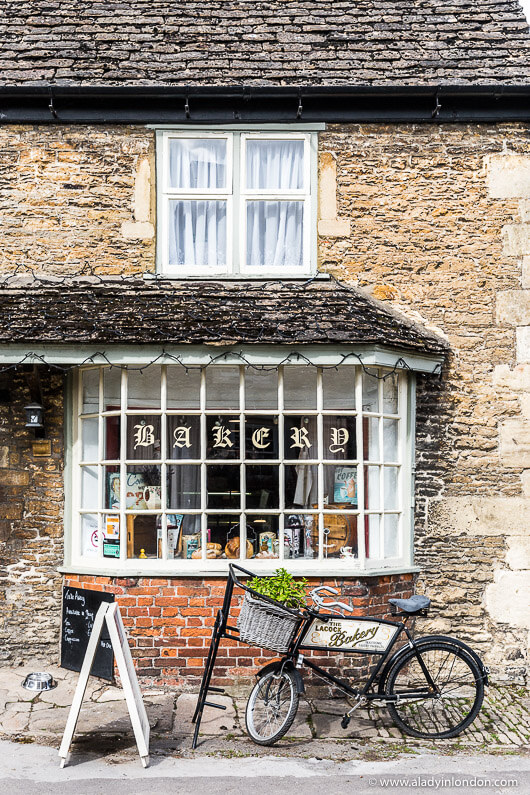 Bakery in the Village of Lacock, England
